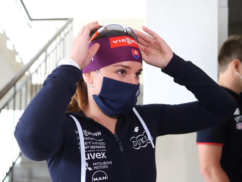 Slovenská biatlonistka Paulína Fialková