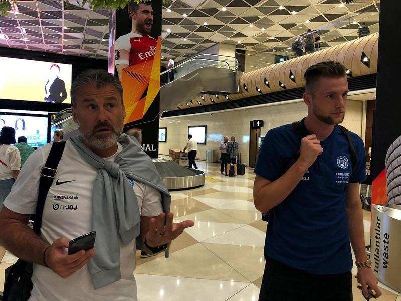 Pavel Hapal a Milan Škriniar