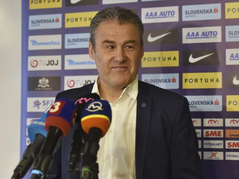 Tréner futbalovej reprezentácie Slovenska Pavel Hapal