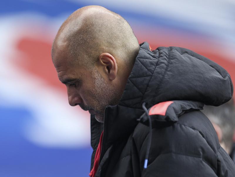 Tréner futbalistov Manchestru City Pep Guardiola