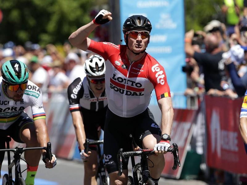 Peter Sagan skončil tretí v šprintérske koncovke v Lyndochu