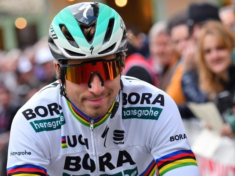 Peter Sagan obsadil druhé miesto za Marcelom Kittelom