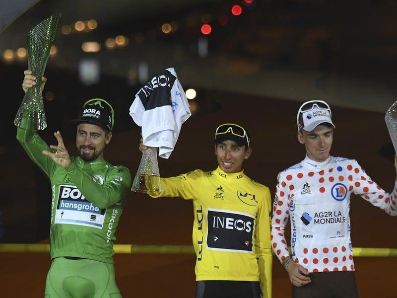 Korunovácia najlepších pretekárov Tour de France 2019