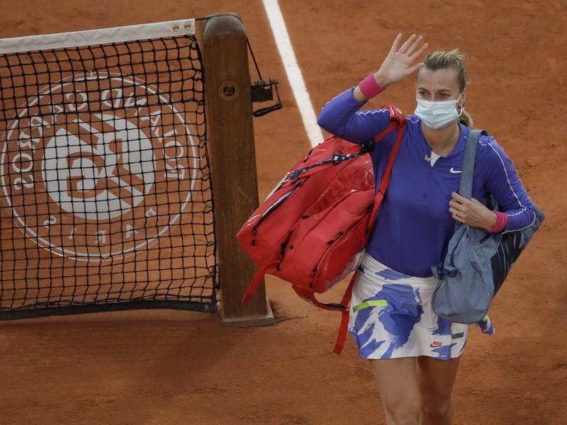 Petra Kvitová sa lúči s Roland Garros