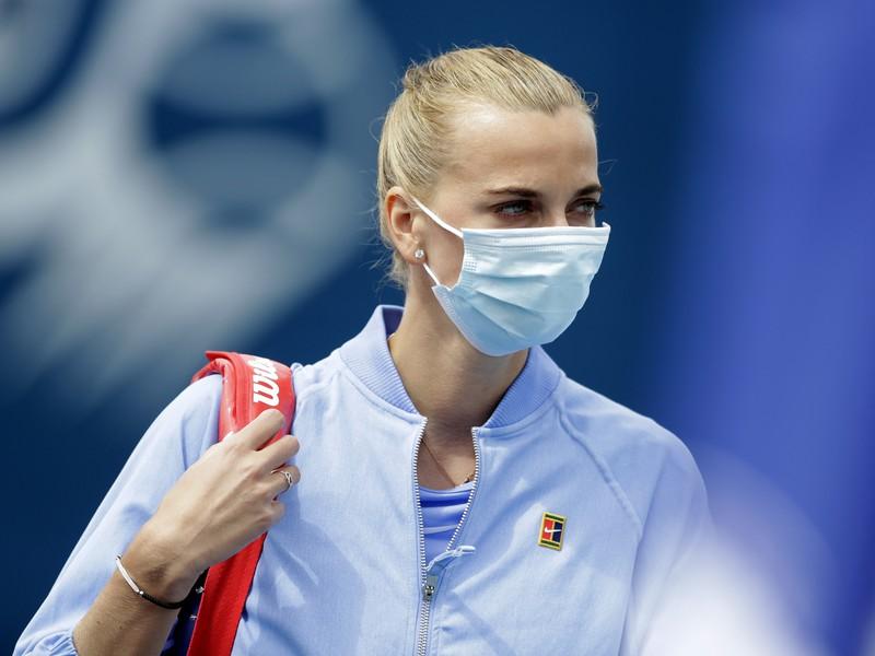Česká tenisová reprezentantka Petra Kvitová