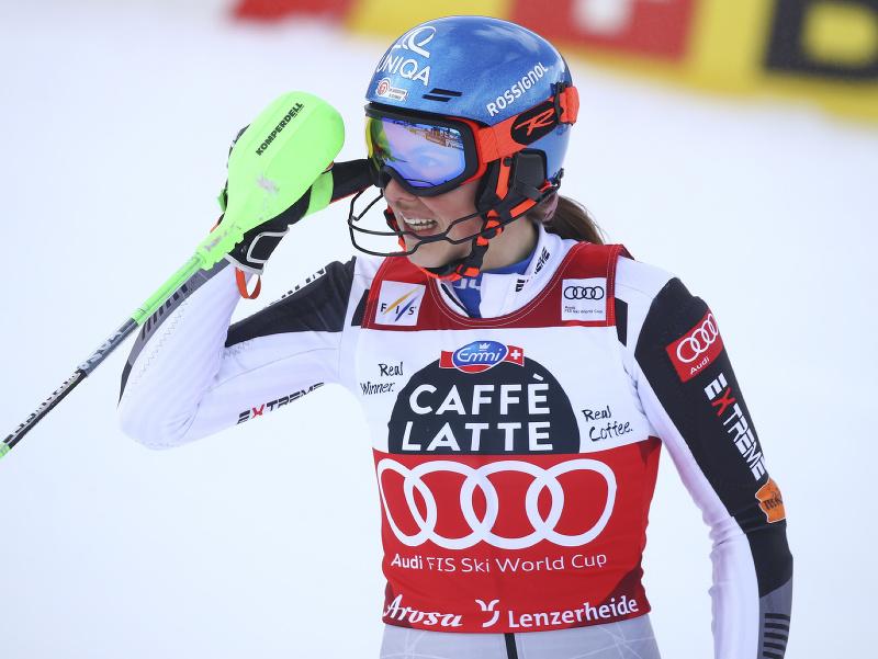 Petra Vlhová v prvom kole finálového slalomu