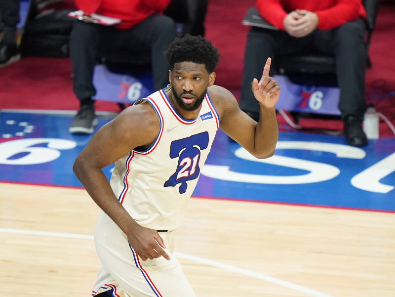 Joel Embiid z Philadelphie 76ers