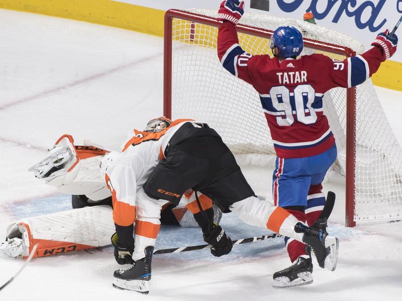 Tomáš Tatar skóruje