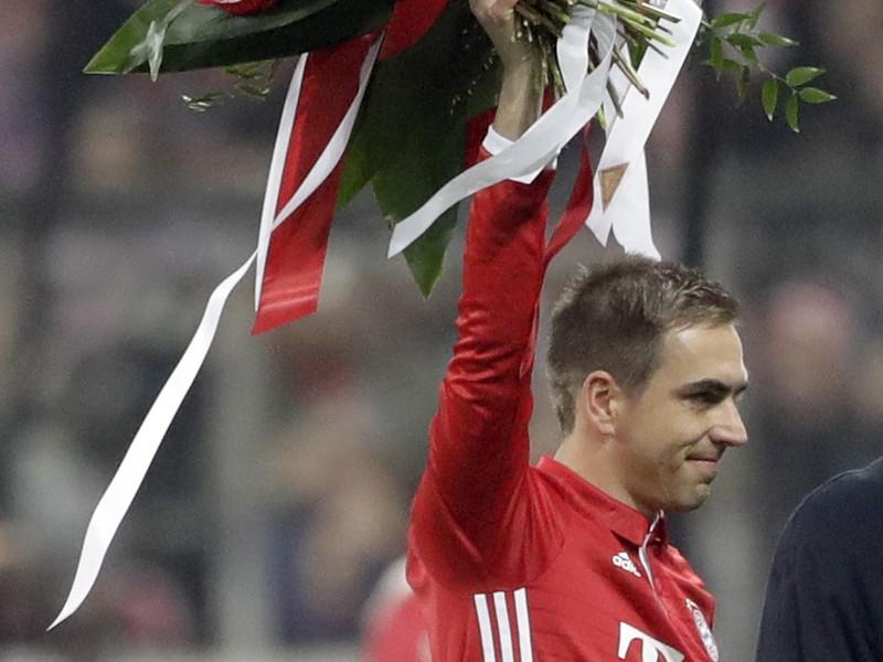 Kapitán futbalitov Bayernu Mníchov Philipp Lahm