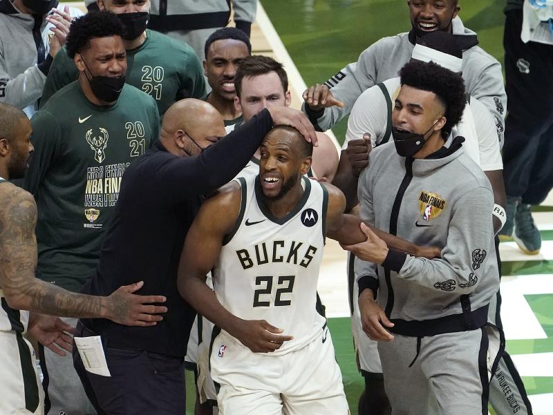 Basketbalisti Milwaukee Bucks
