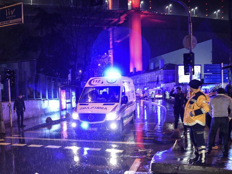 Teroristický útok v Istanbule