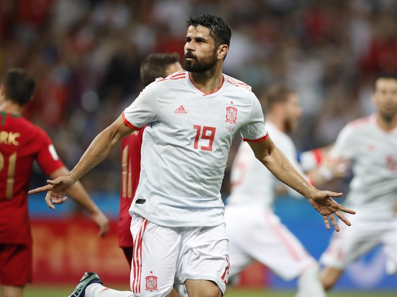 Diego Costa a jeho gólové oslavy