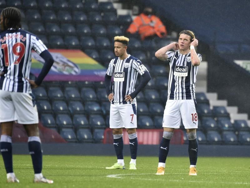 Frustrovaní futbalisti West Bromwich Albion
