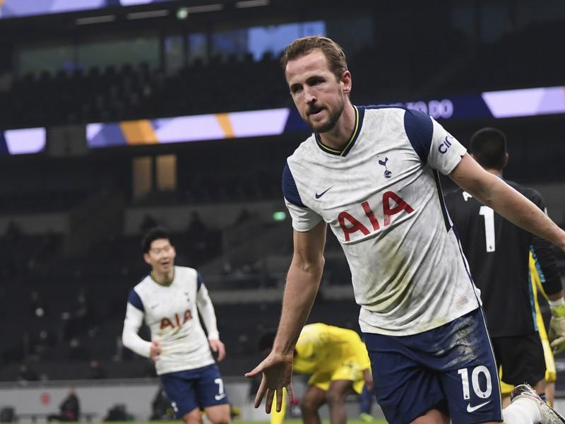 Harry Kane a jeho gólová radosť