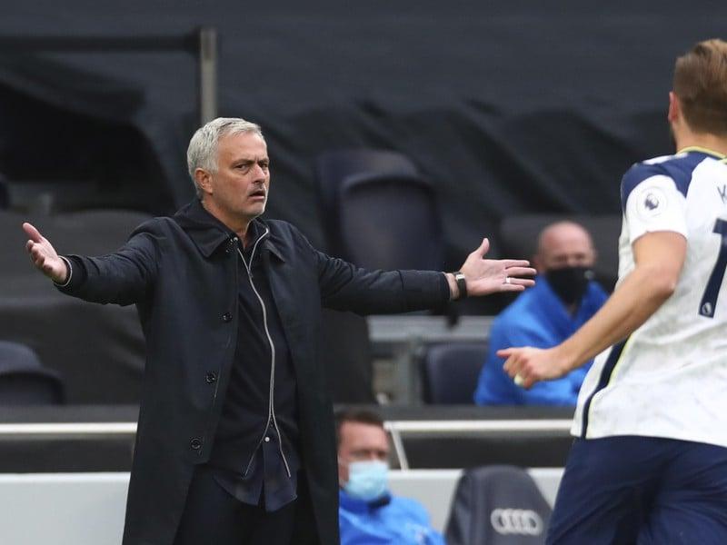 José Mourinho a Hary Kane