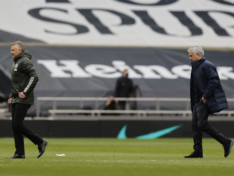 Ole Gunnar Solskjaer a José Mourinho