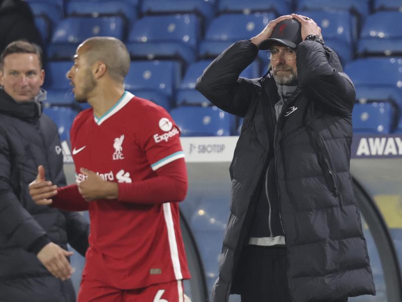 Jurgen Klopp na lavičke Liverpoolu