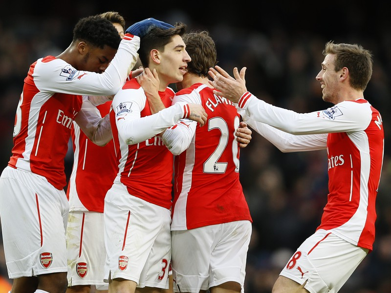 Futbalisti Arsenalu Londýn