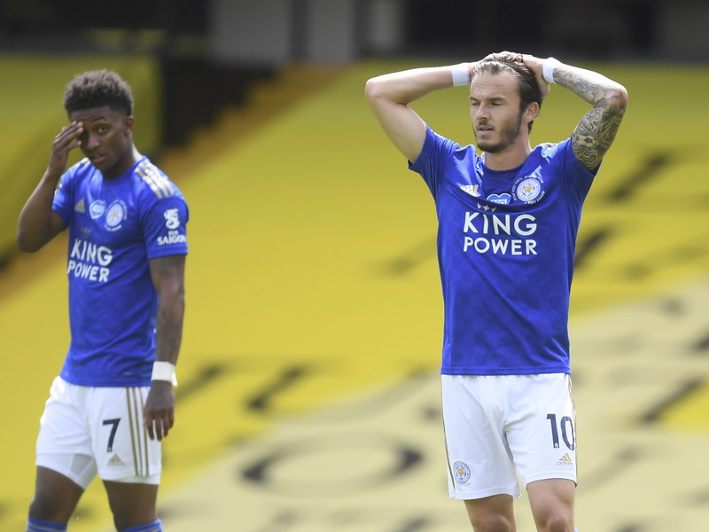 Demarai Gray a James Maddison