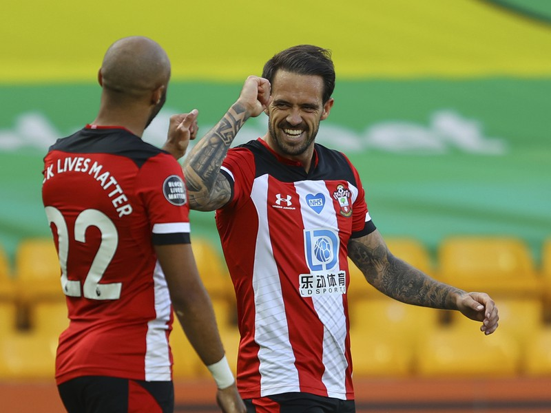 Danny Ings a Nathan Redmond