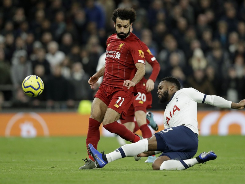 Danny Rose a Mohamed Salah