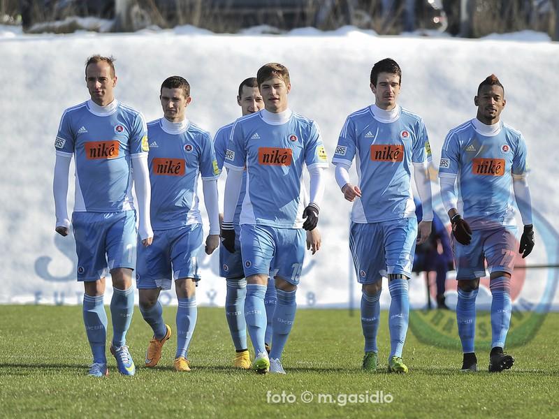 Futbalisti ŠK Slovan Bratislava na príprave v Rakúsku