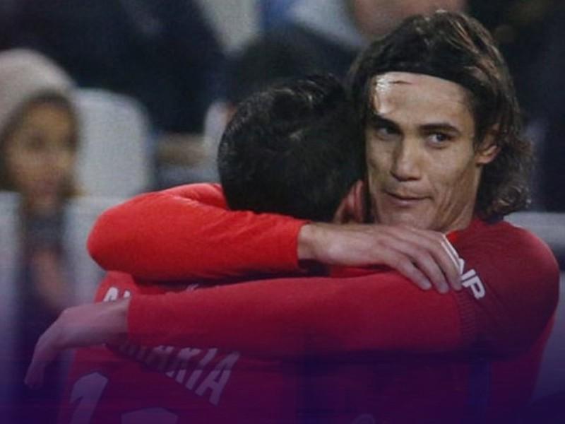 Ángel Di María a Edinson Cavani zariadili triumf PSG