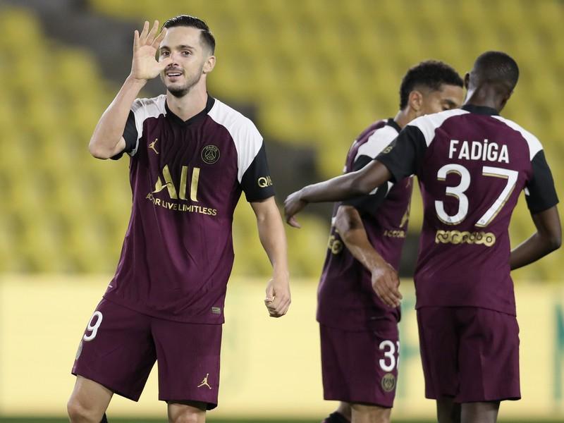 Pablo Sarabia a jeho gólové oslavy so spoluhráčmi