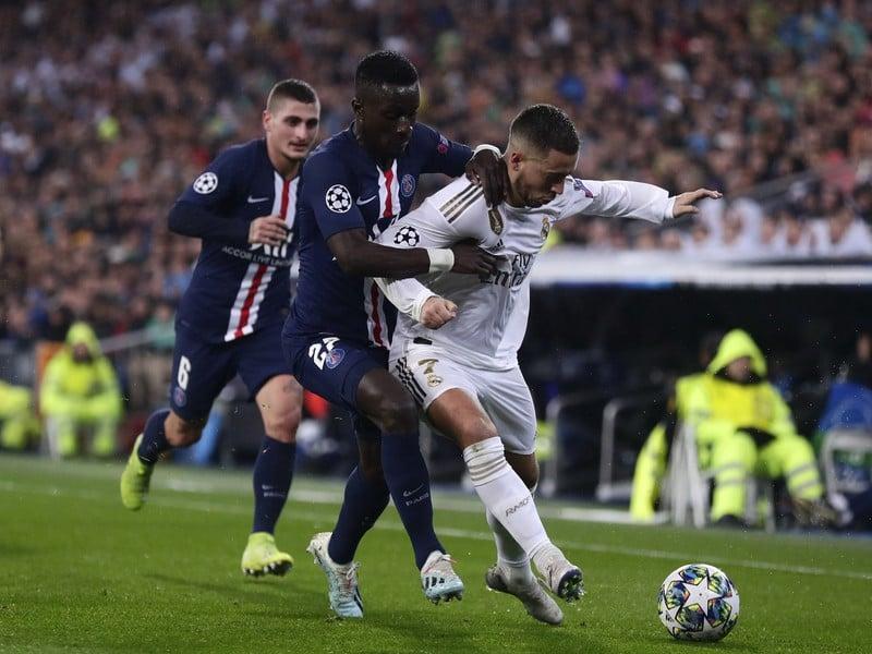 Eden Hazard a Idrissa Gueyé