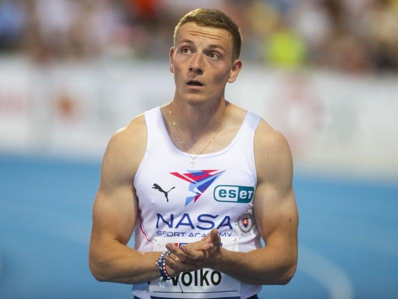Na snímke slovenský reprezentant Ján Volko