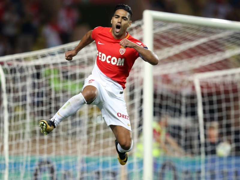 Radamel Falcao sa raduje z gólu