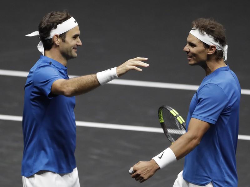 Roger Federer a Rafael Nadal