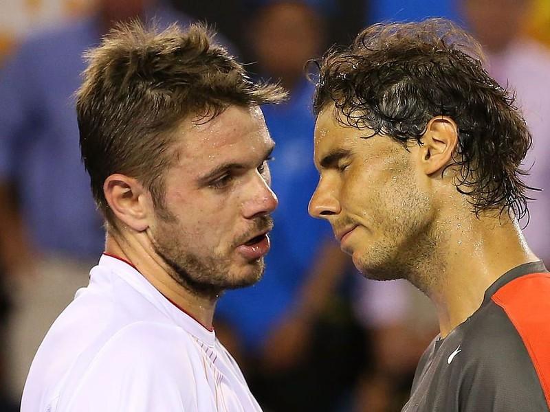 Stan Wawrinka a Rafael Nadal