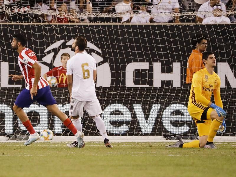 Diego Costa strelil v zápase s Realom Madrid štyri góly