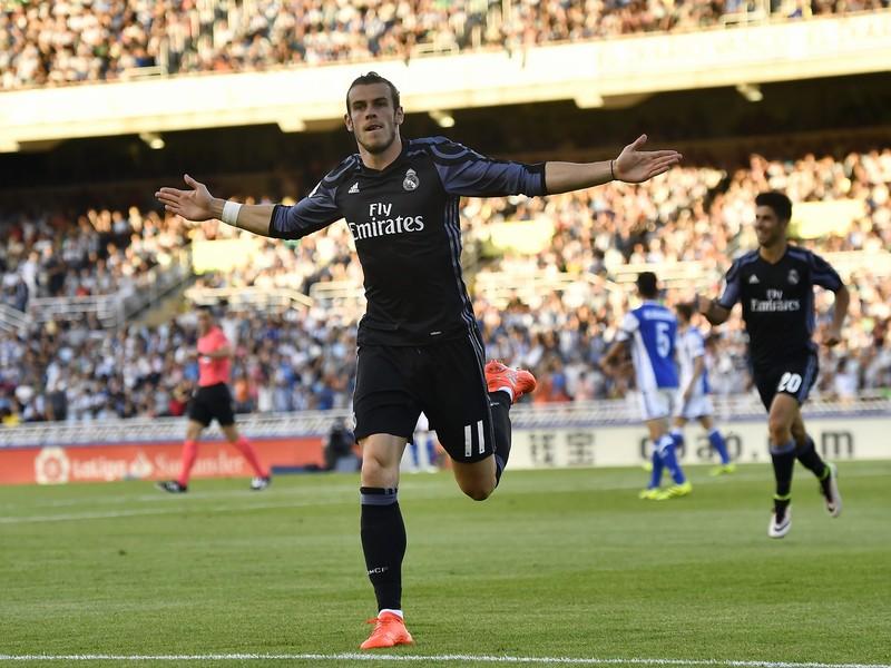 Gareth Bale a jeho gólová radosť
