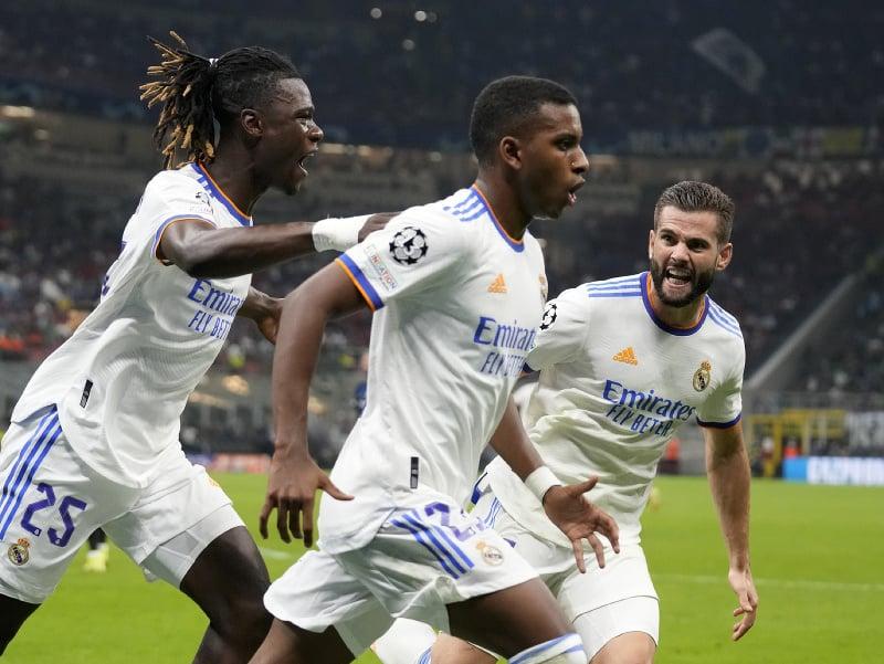 Obrovská radosť po góle Rodrygo