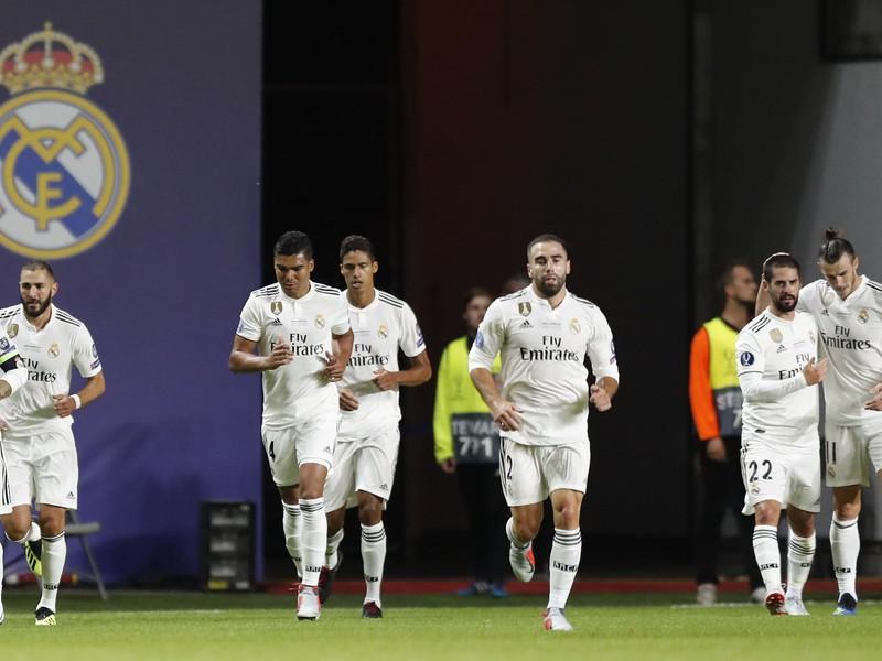 Gólové oslavy futbalistov Realu