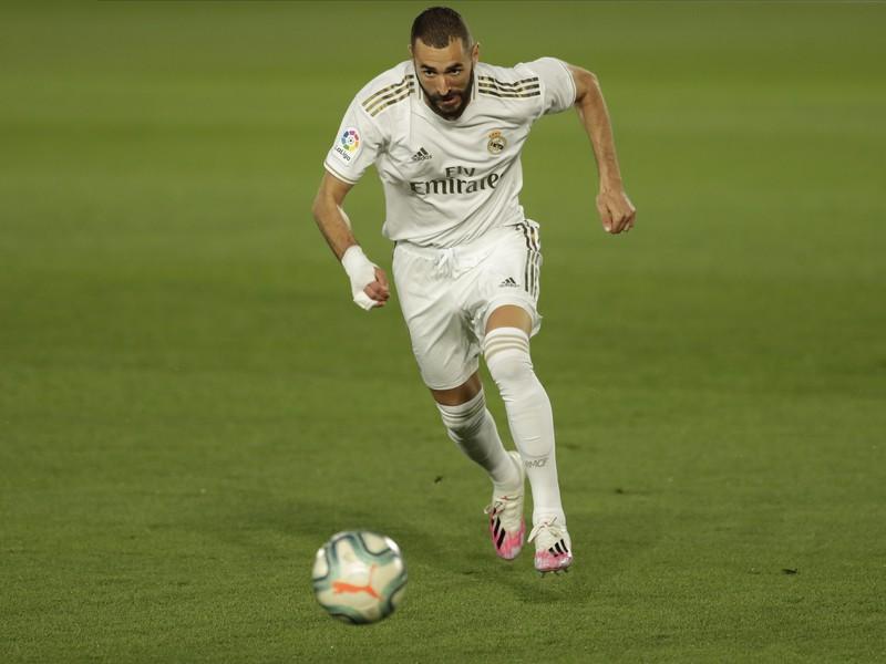 Útočník Realu Madrid Karim Benzema