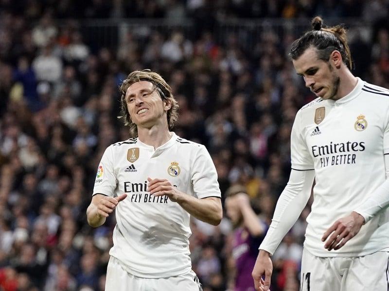 Luka Modrič a Gareth Bale
