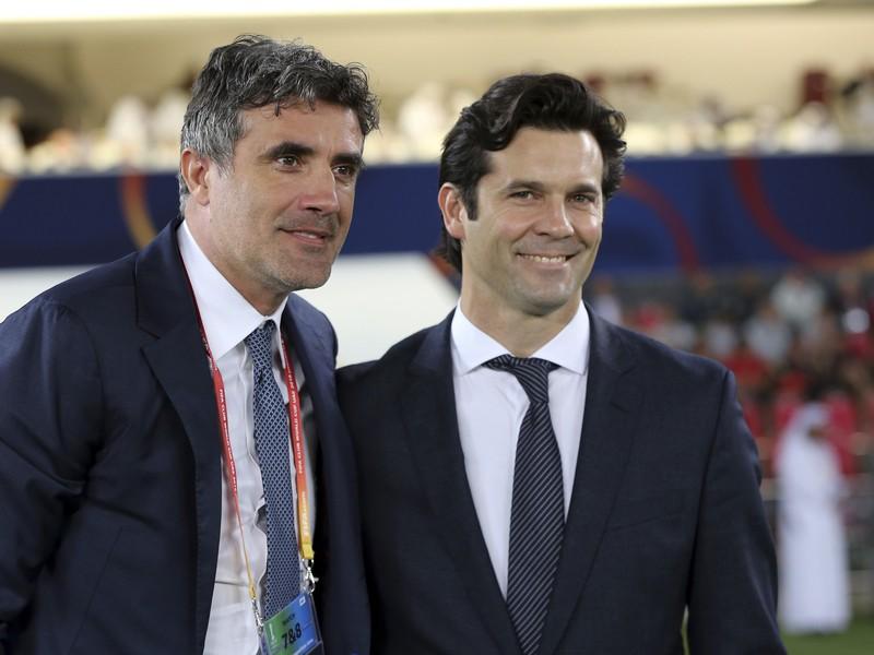 Zoran Mamič a Santiago Solari