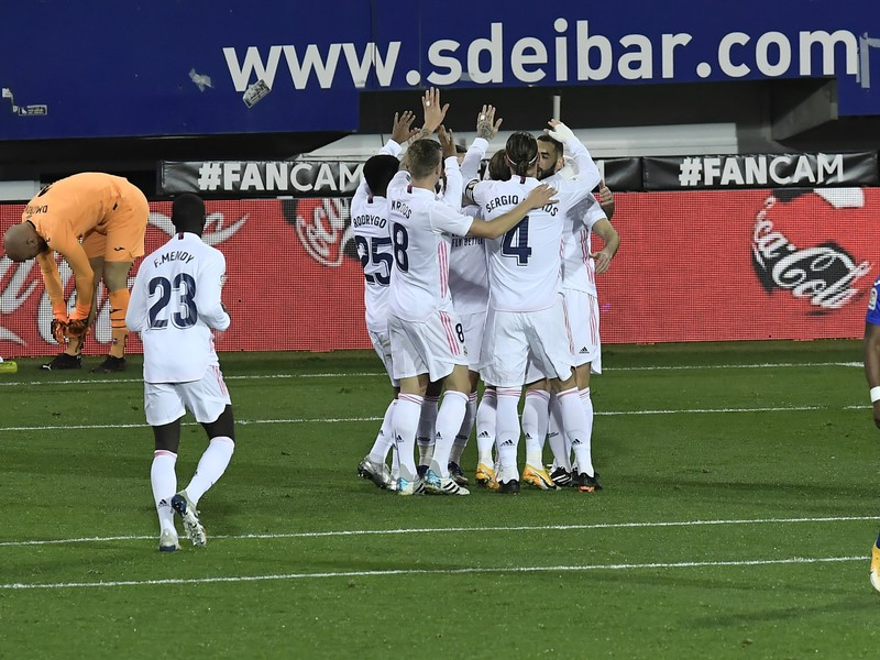Radosť futbalistov Realu