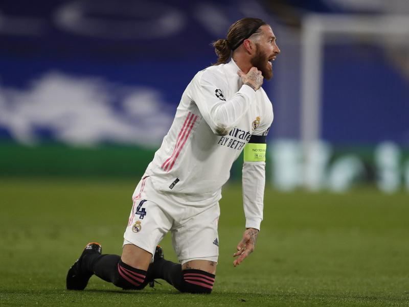 Sergio Ramos si zranil achilovku
