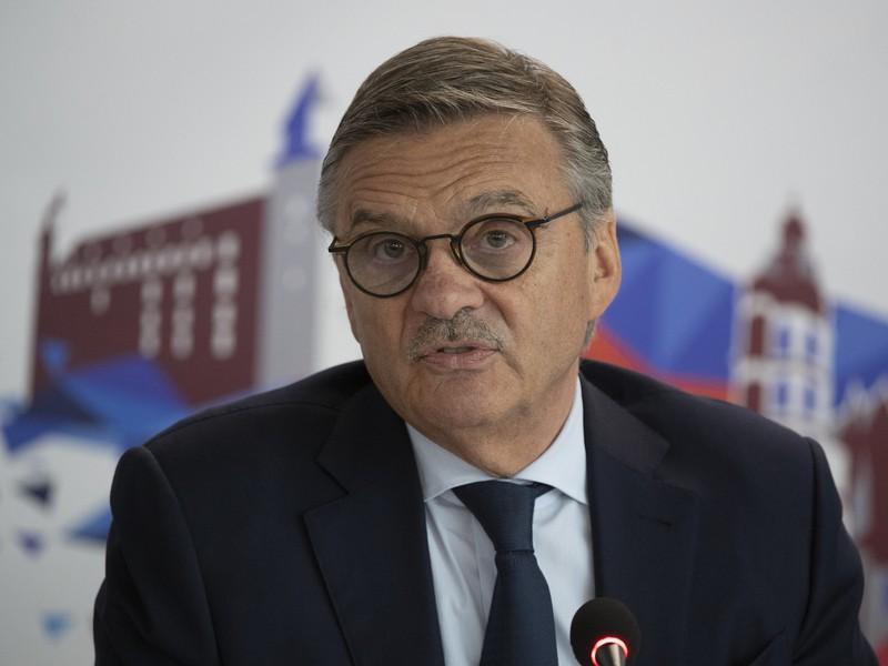 Prezident IIHF René Fasel