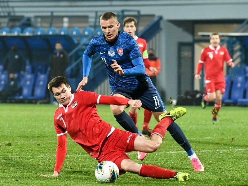 Ladislav Almási v drese národného tímu Slovenska