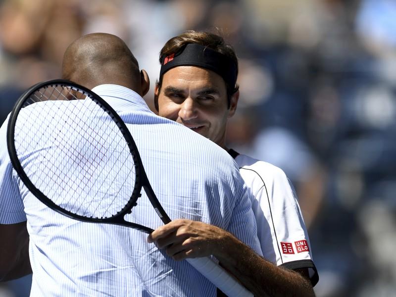 Roger Federer a Kobe Bryant