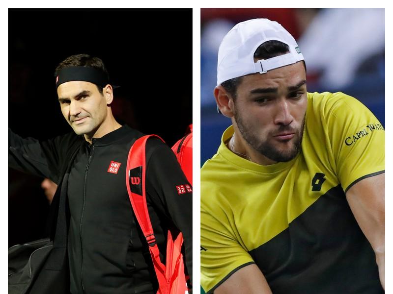 Roger Federer vs. Matteo Berrettini