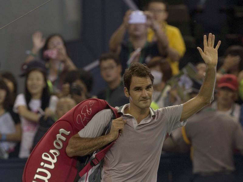 Roger Federer sa v Šanghaji rozlúčil až nečakane skoro