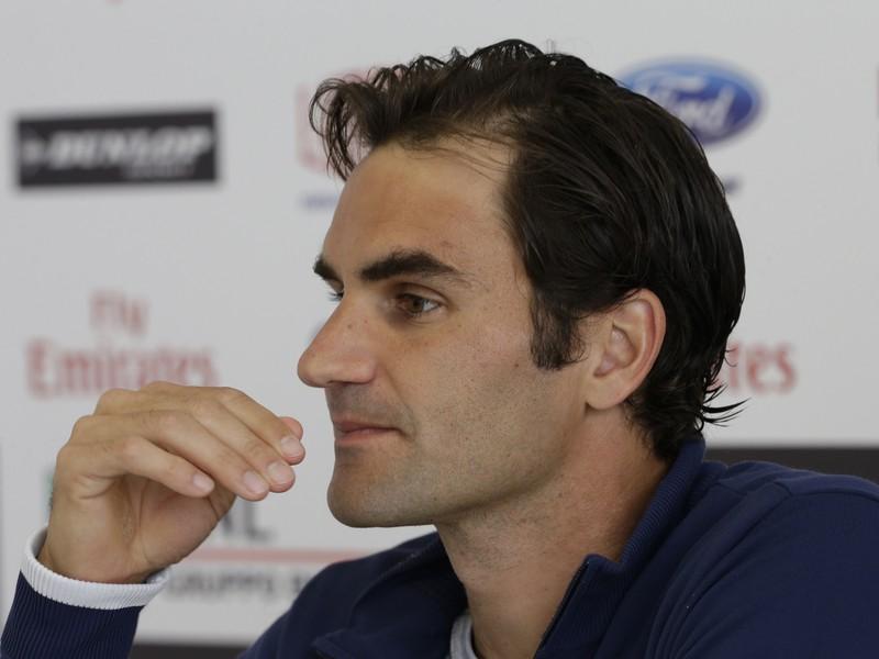 Roger Federer; ZDROJ: SITA