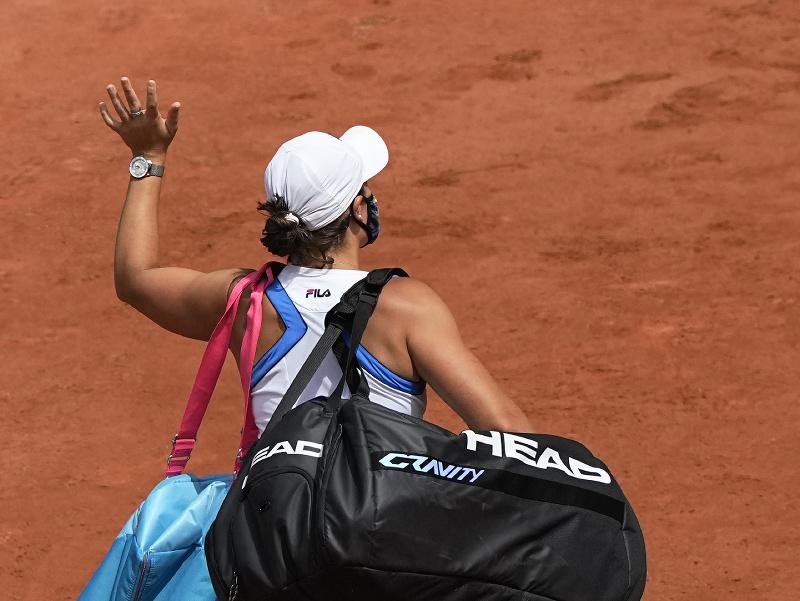 Ashleigh Bartyová skrečovala zápas 2. kola Roland Garros