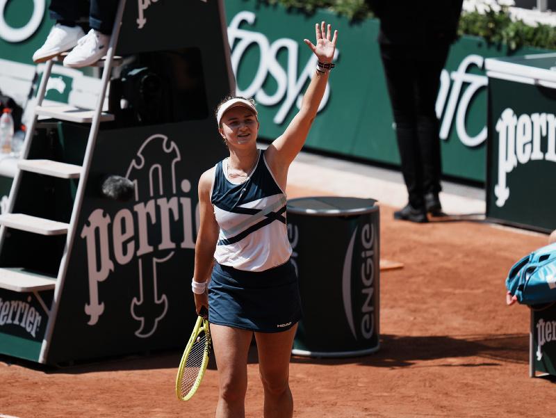 Barbora Krejčíková postúpila do semifinále Roland Garros